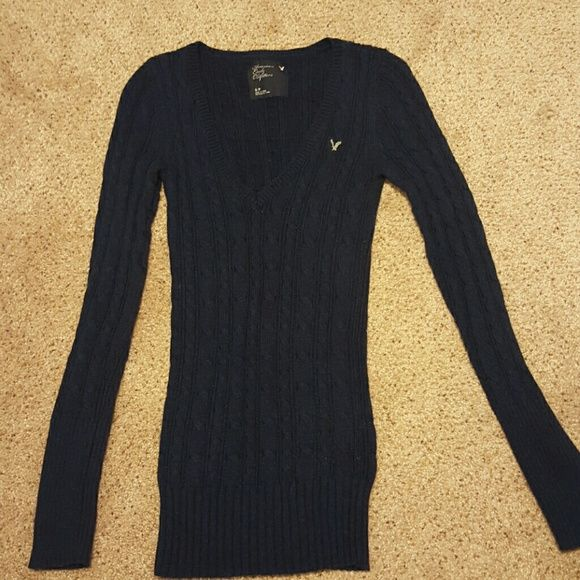 Navy Blue Cable Knit Sweater Cable Knit Sweaters Dark Navy Blue