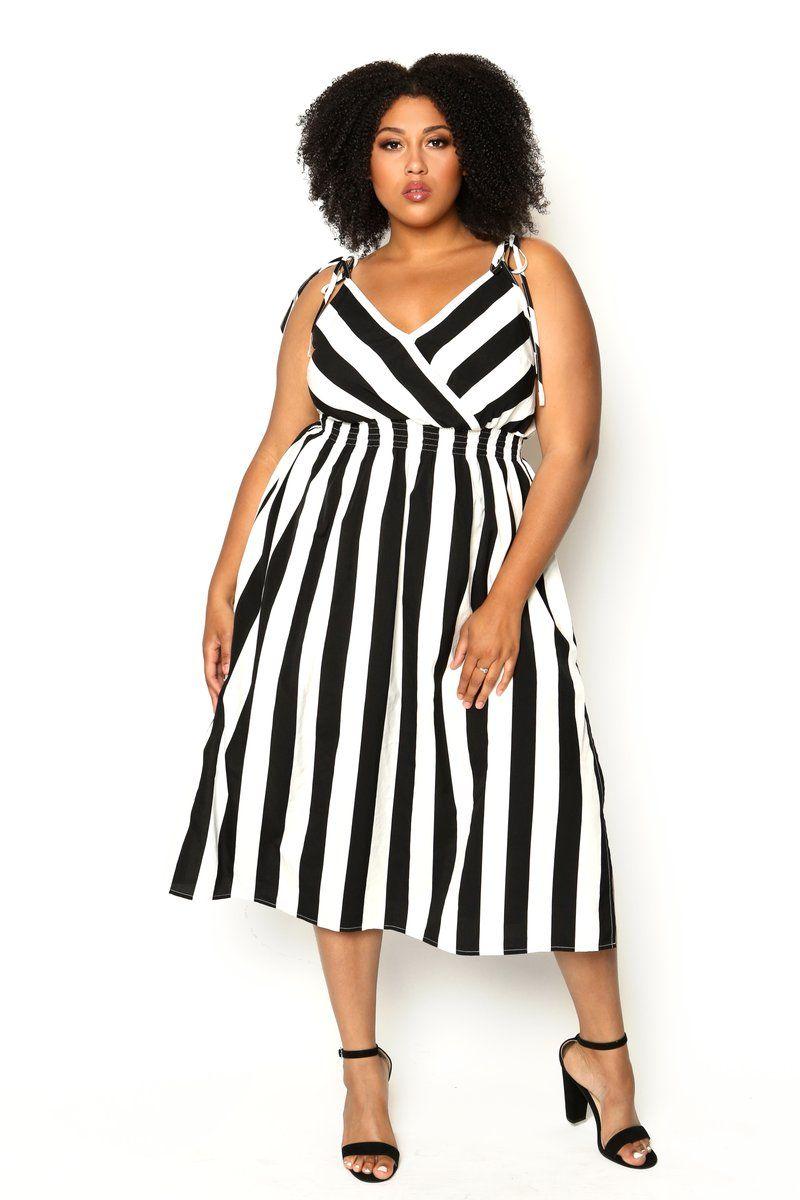 b9da9c596b7 Lucy striped dress from Astra Signature
