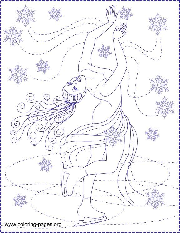 Nicole\'s Free Coloring Pages: ICE PRINCESS * COLORING PAGES ...