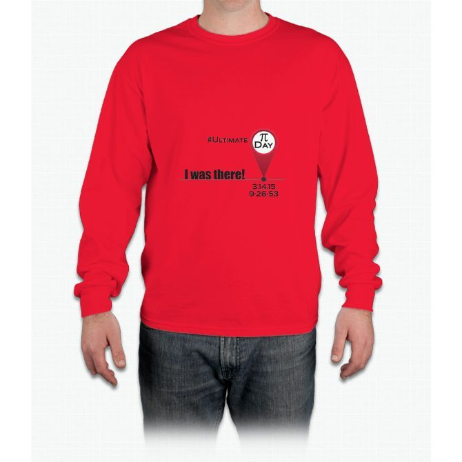 Ultimate Pi Day: I was there Long Sleeve T-Shirt