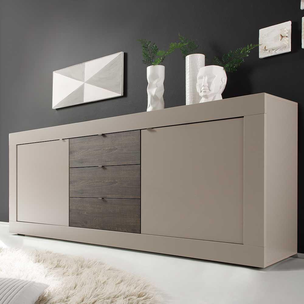 sideboard in beige wenge sideboard wohnzimmerschrank