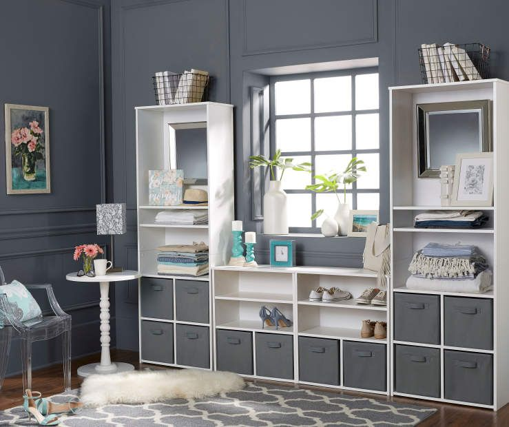 Ameriwood System Build White Cube Organizers At Big Lots