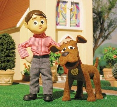 Davey and Goliath - a claymation cartoon developed by the Lutheran ...
