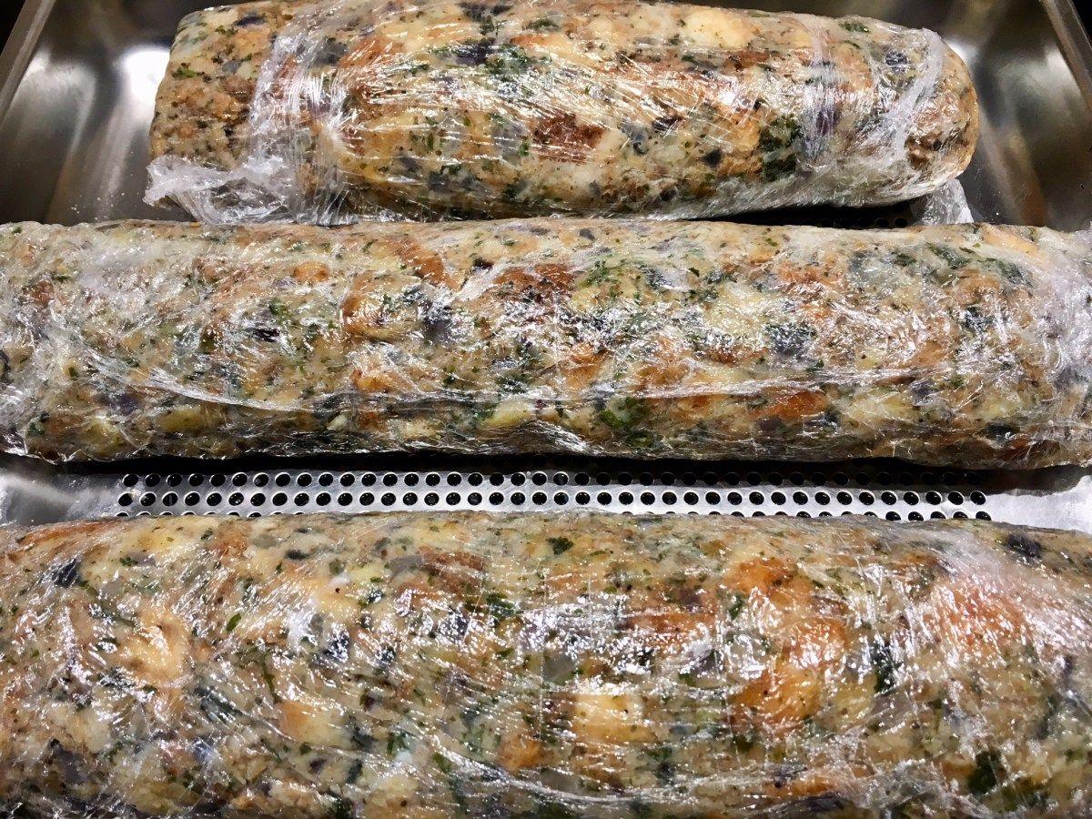Serviettenknödel aus dem Dampfgarer | Dampfgarer Rezepte