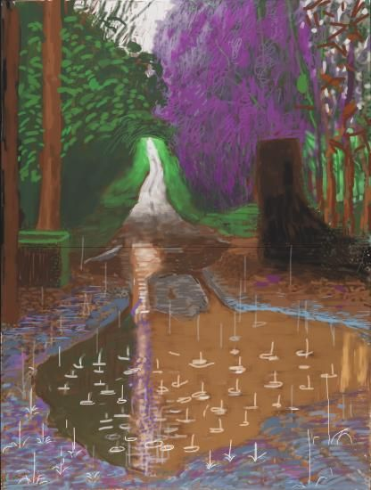 Exhibitions | David Hockney: The Arrival of Spring (2014)