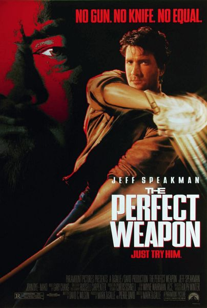 The Perfect Weapon 1991 Starring Jeff Speakman Martial Arts
