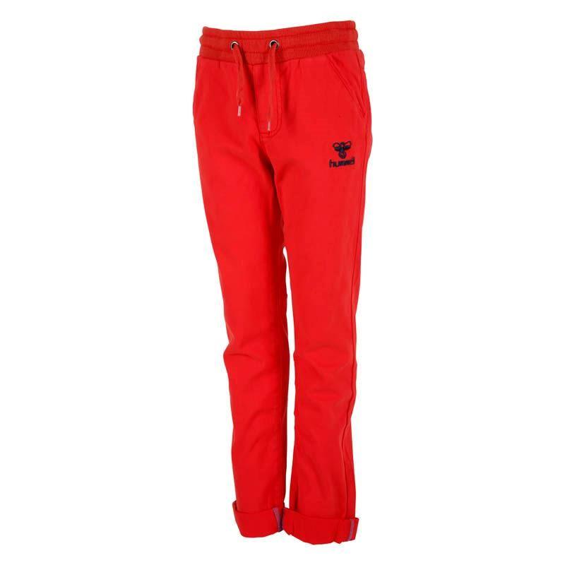 Super lækre røde twill bukser fra Hummel - Dani Pants