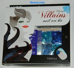 Kiss Disney Villains Nail Art Kit – Ursula » BeautyJudy