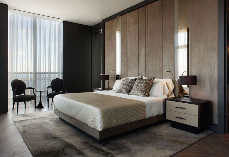 20 Modern Contemporary Masculine Bedroom Designs Modern Bedroom