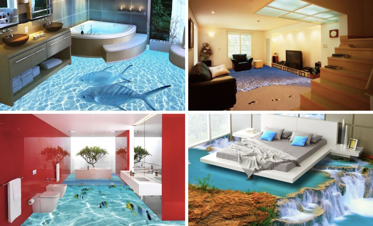these 3d floors turn your home into a magical scene 3d 3d