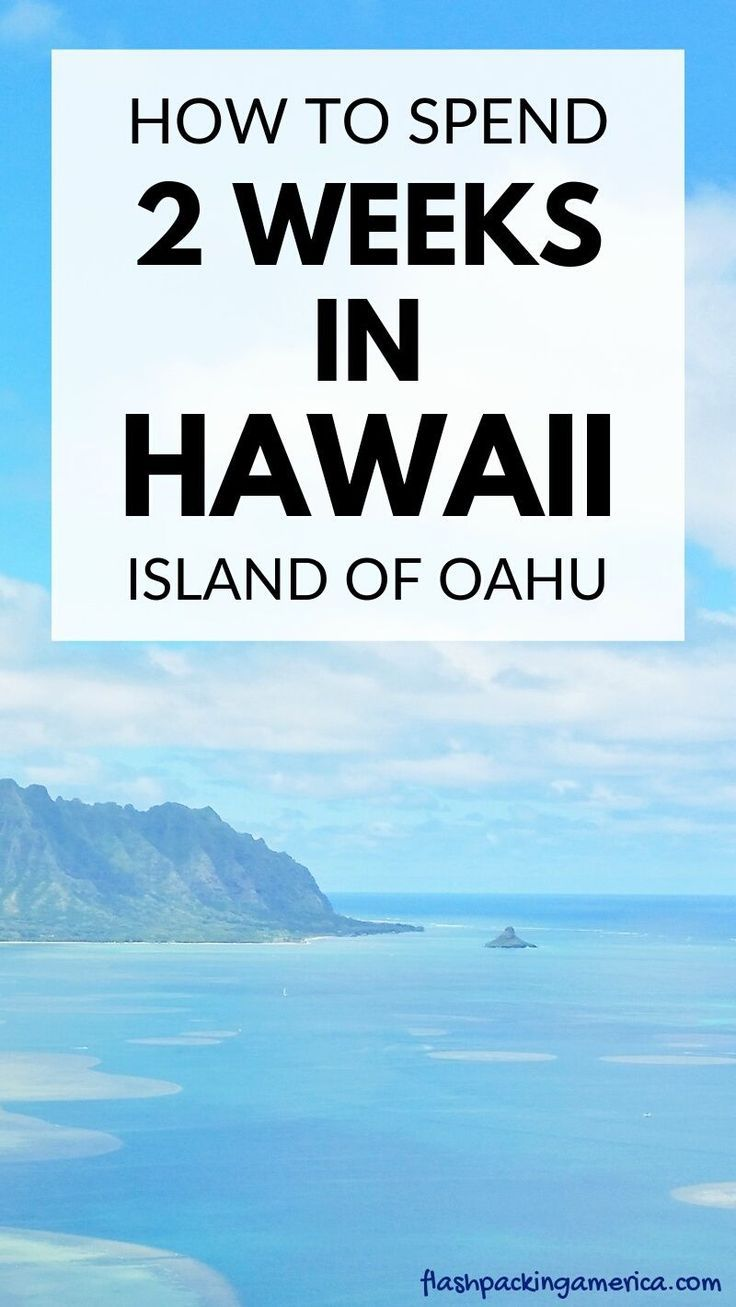 2 weeks in Oahu Hawaii without a car + other islands ...
