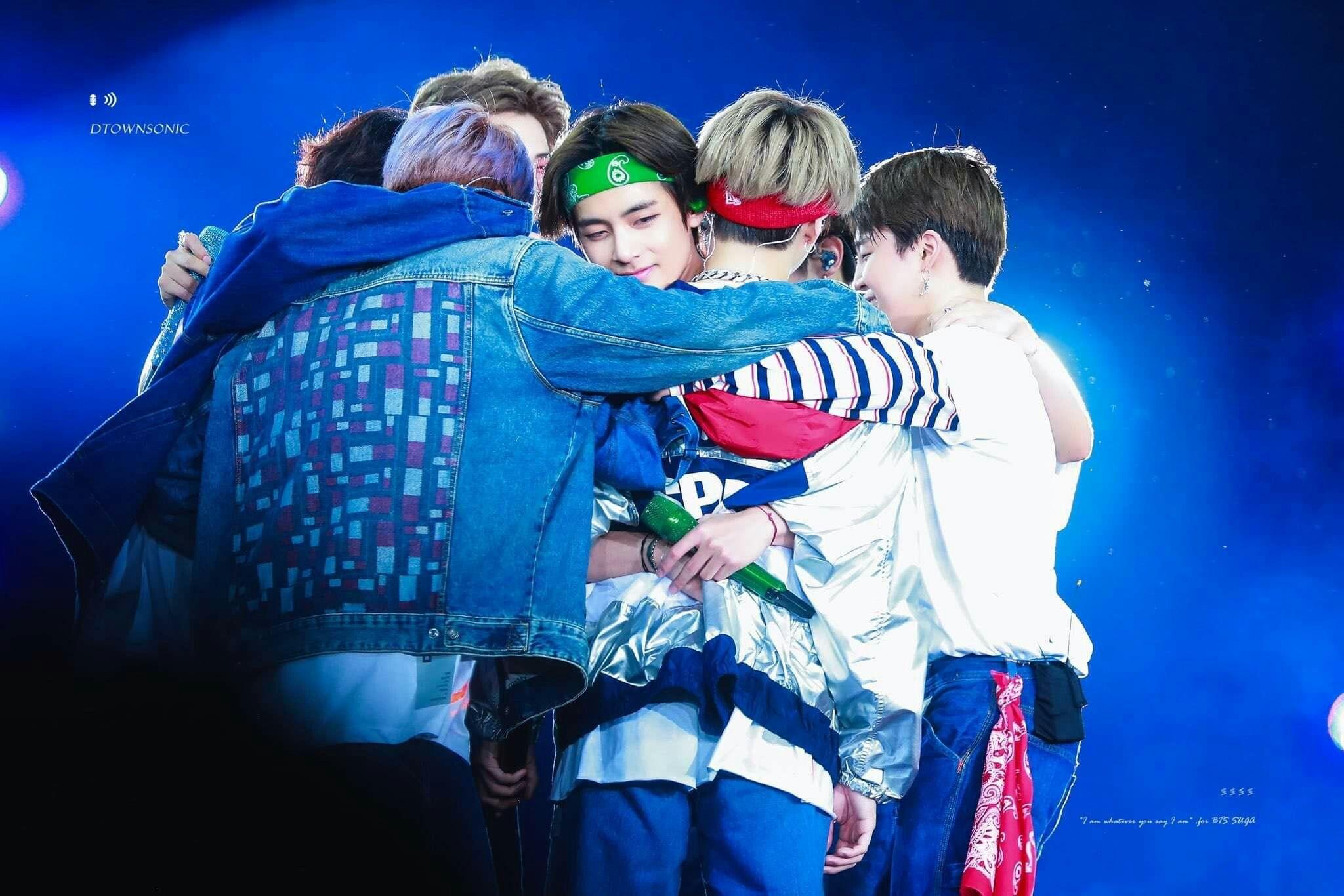 Bts Hug Bts Group Bangtan Taegi