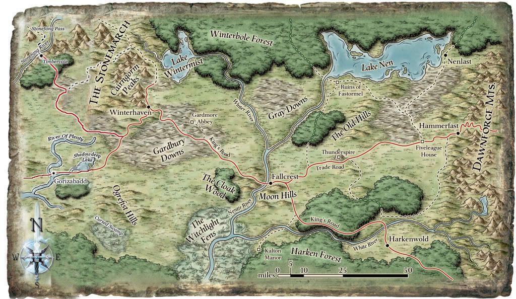D D 4e Nentir Vale Maps Fantasy Maps Pinterest Fantasy World