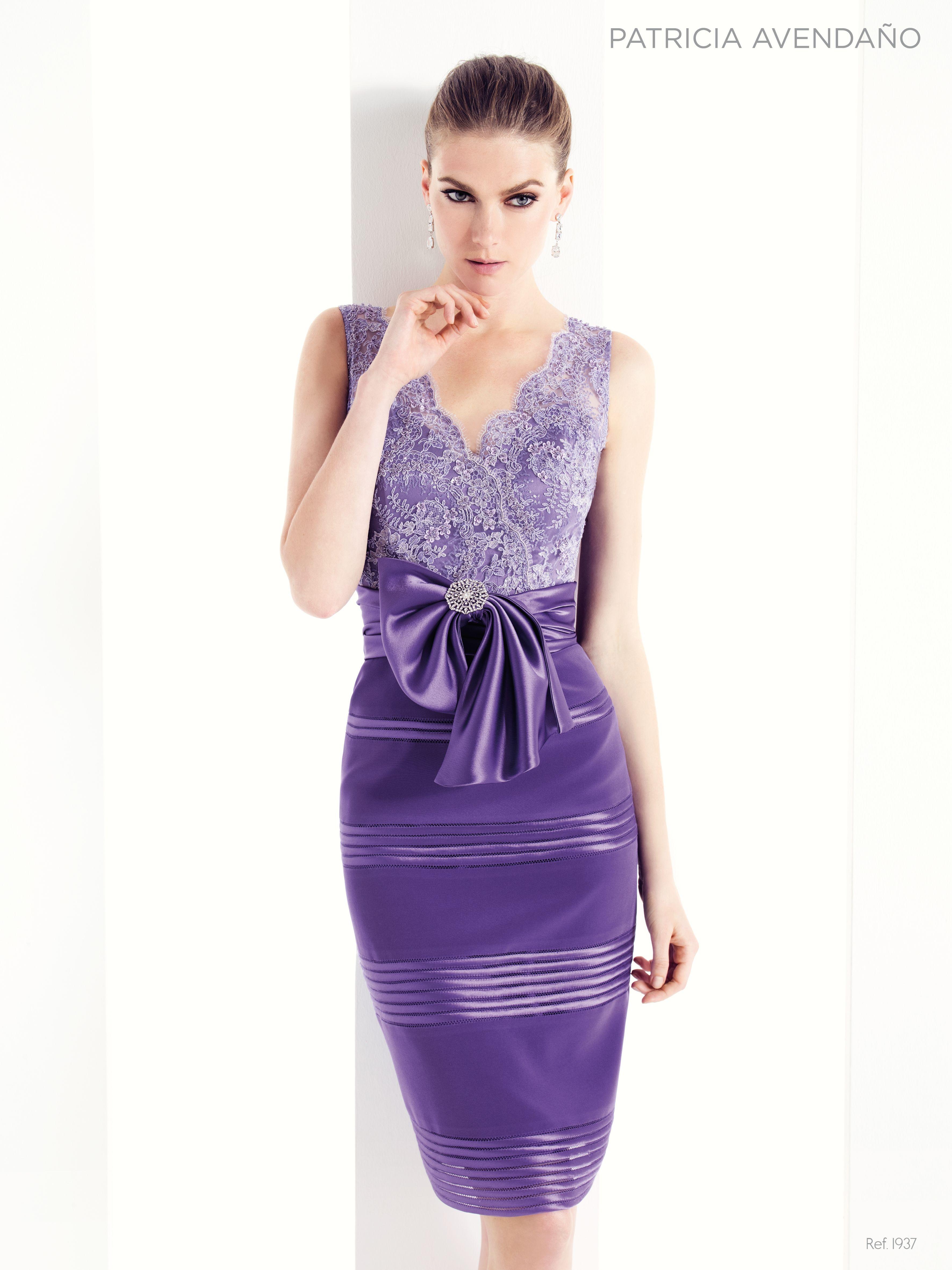 1937 - Vestido de Fiesta - Patricia Avendaño | Short Dresses ...