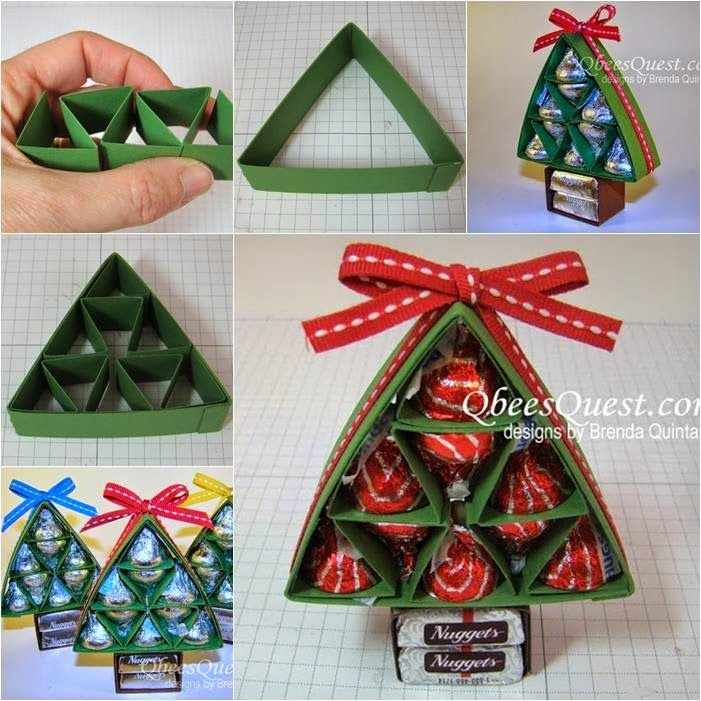 These hersheys christmas trees will make fabulous gifts for your how to make hershey christmas trees diy diy crafts do it yourself diy projects christmas crafts christmas trees hershey christmas diy solutioingenieria