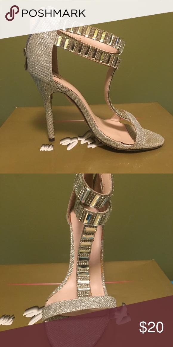 Women's High Heels Glitzy 3 1/2 inch Heels with Rhinestones Shoes Heels