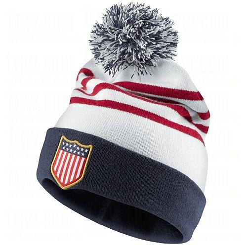 NIKE 13 14 USA Knit Beanie  NIKE  USA  Soccer  Beanies  SoccerSavings.com e96174767345