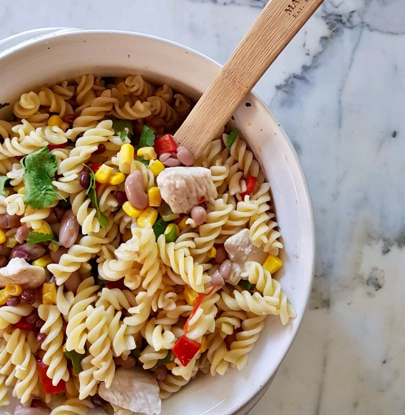 Mexican-Inspired Pasta Salad