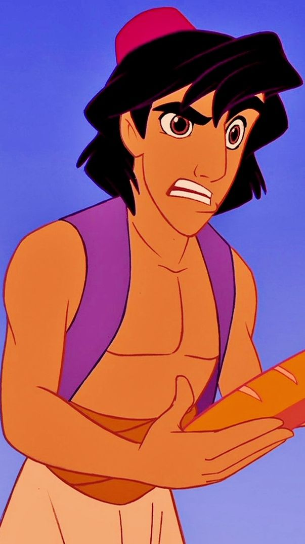 *ALADDIN, 1992....All this for a loaf of bread??