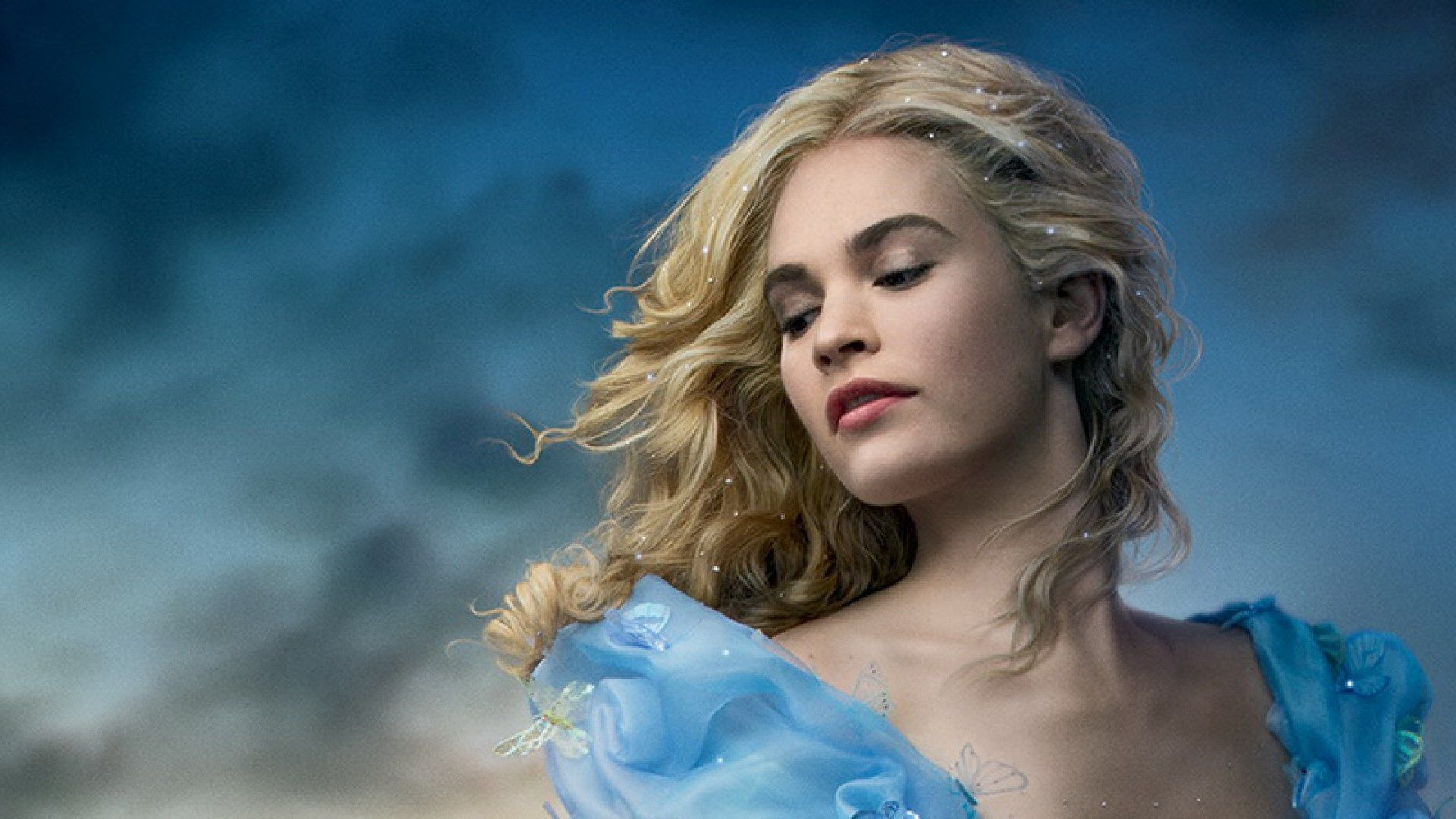 Wide Background Hd Lily James In High Res