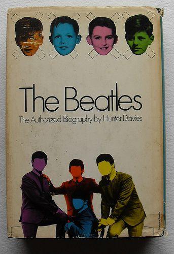 The Beatles 1968 Hunter Davies Hardcover Book Dust Jacket 1 Shit