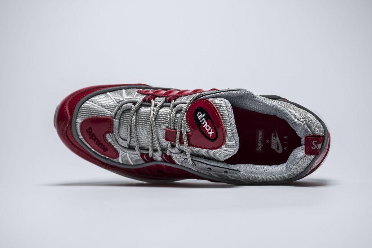 3a665f61fb Supreme x Nike Air Max 98 844694 600 Red Shoes6 | Nike Air Max 98 ...