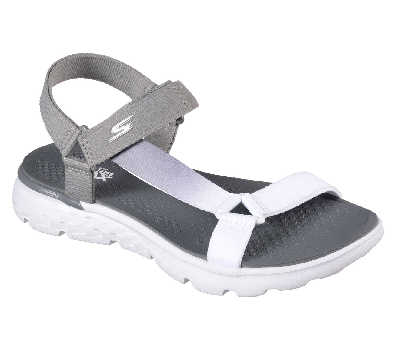 skechers goga max sandals