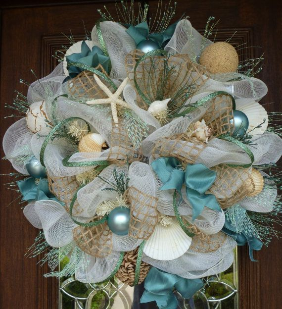 Collection of 20 Beach Inspired Christmas Craft Ideas