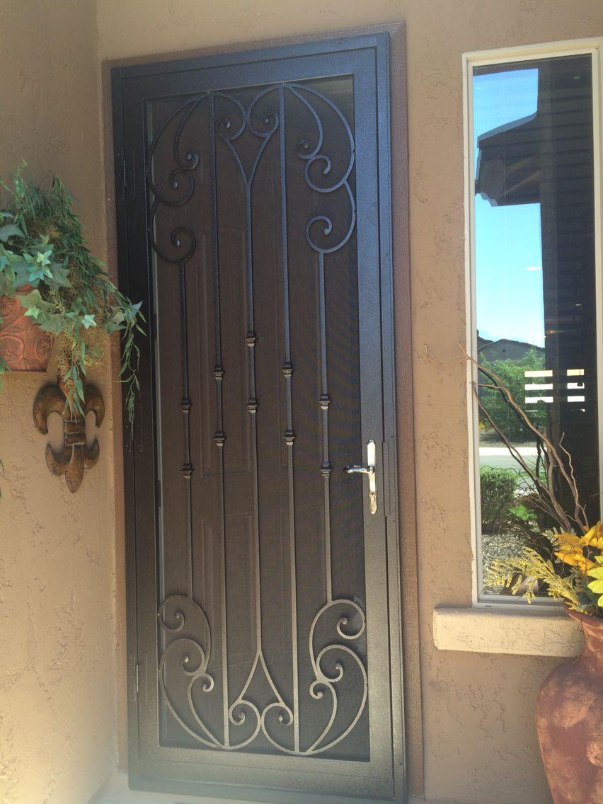 Security door sala de estar en 2019 - Puertas de metal para casas ...