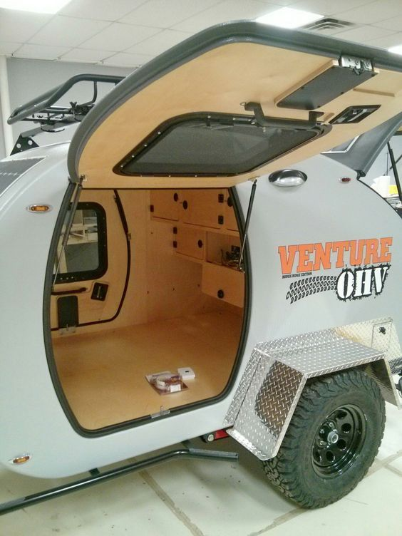 Inka Outdoor, LLC is proud to offer the Venture OHV™ - Rough Ridge Edition, a capable Off Highway Vehicle and overland camper. Based on Inka Outdoor's highly refined, modern teardrop camper body and integrated with a newly-designed, well armored off-road chassis, the Venture OHV™ Rough Ridge...: