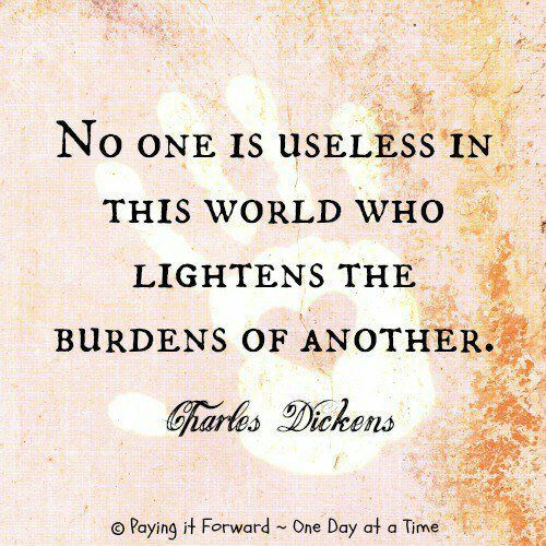 Attrayant No One Is Worthless! | No One Is Useless In This World Who Lightens The · Christmas  Quotes From MoviesInspirational ...