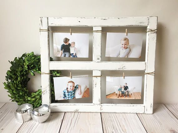 Window Frame Old Rustic Home Decor Picture Mothers Day Wood