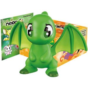 Neopets Burger King Green Shoyru Catalog, Virtual pet, Toys