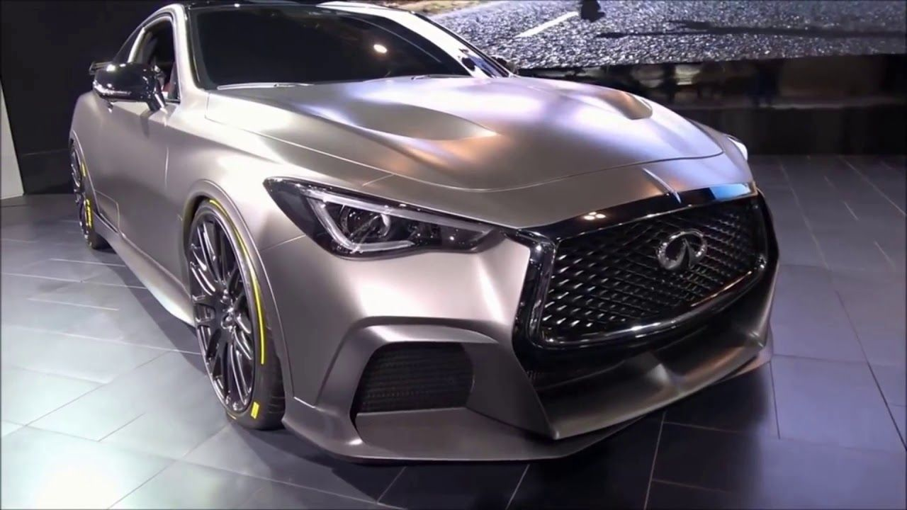 2020 Infiniti Q60 Project Black S with much power and