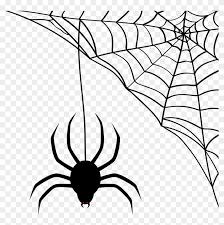 Vector Halloween Spider Web Svg Free Transparent Png Clipart Images Download Halloween Spider Web Halloween Spider Spider