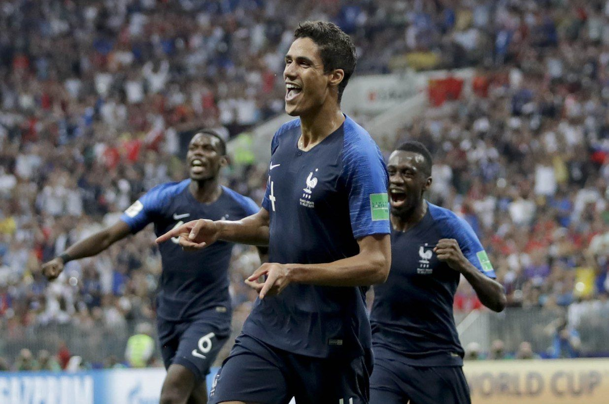France wins second World Cup in a final that had