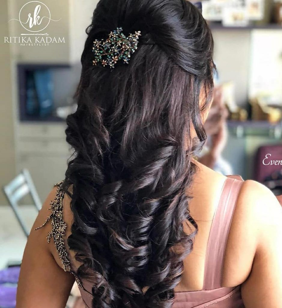 25 Pre Wedding Hairstyles For Mehndi Haldi Or More Functions Hair Styles Wedding Hairstyles For Women Engagement Hairstyles