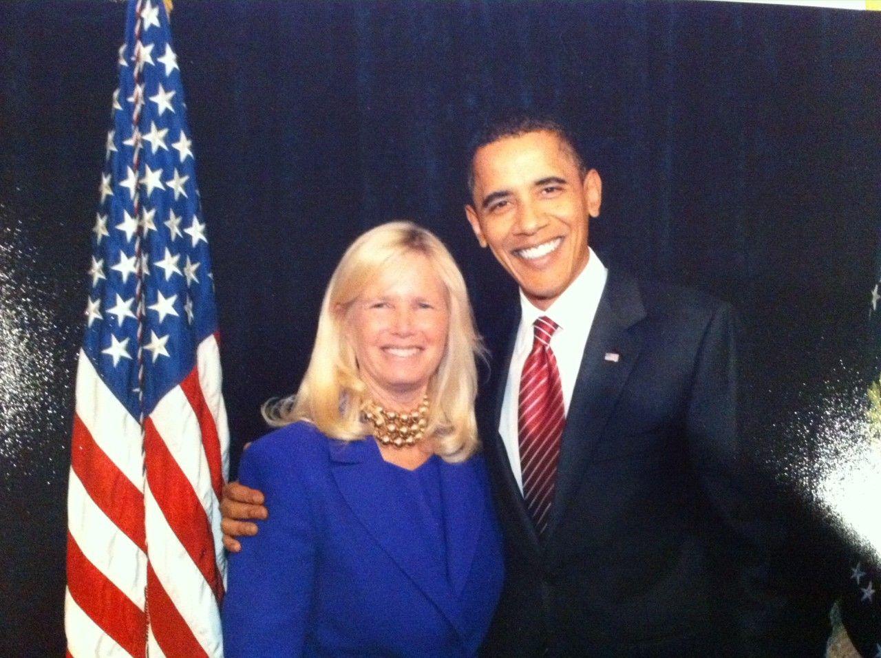 Rear Admiral Susan Blumenthal, M.D. with President Barack Obama