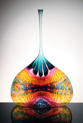 """""""Hesitating Butterfly Shrug"""" by Stephen Powell. Beautiful colours and elegant shape"""