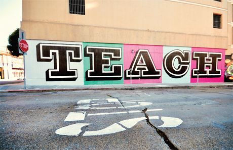 TEACH in Tenderloin, San Francisco by Eine