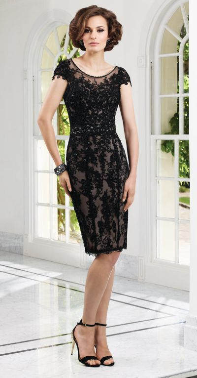 VM Collection 71116 Beaded Lace Mothers Dress | Mother of