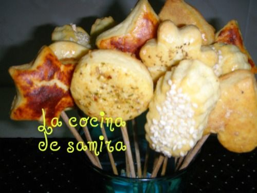 Galletas de parmesano y especias
