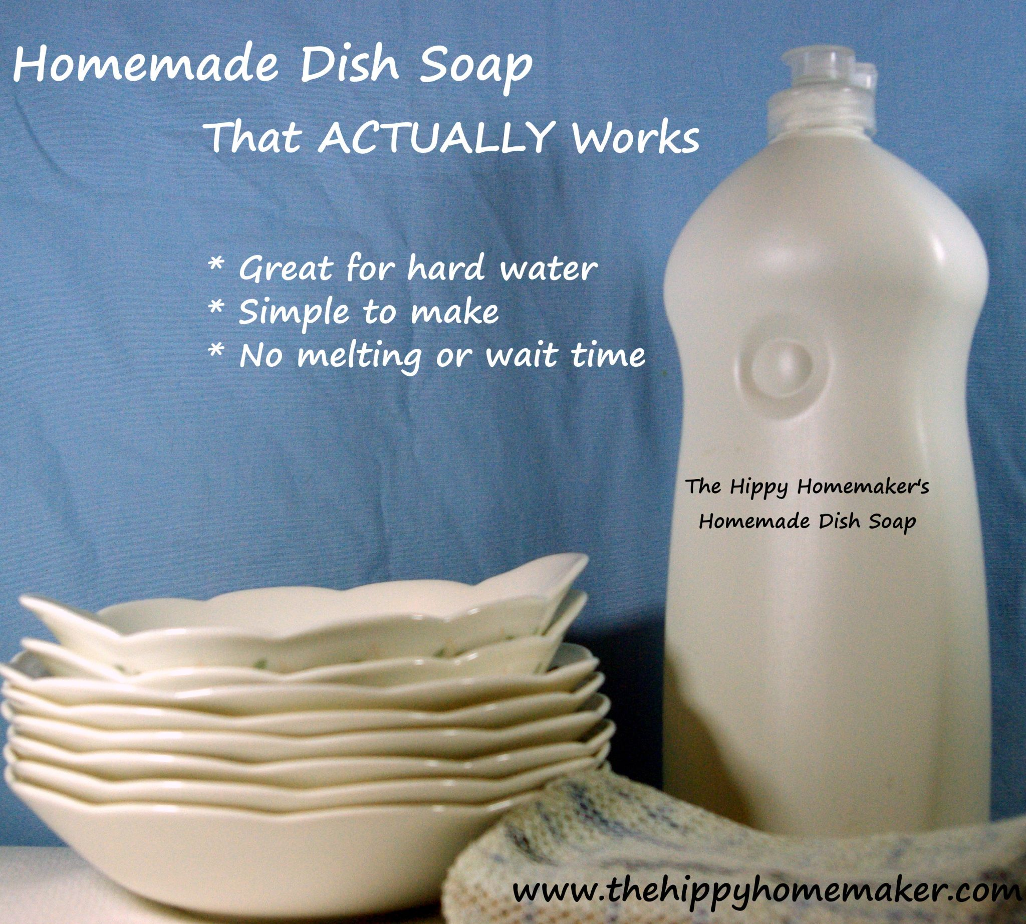 Diy Dish Soap That Works Simple No Melting And No Waiting Diy