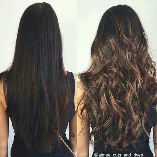 27 Hair Color Ideas For Brunette Gals When You Wanna Give Your Locks A Makeover From Soft Caramel Highlights To Changing Balayage