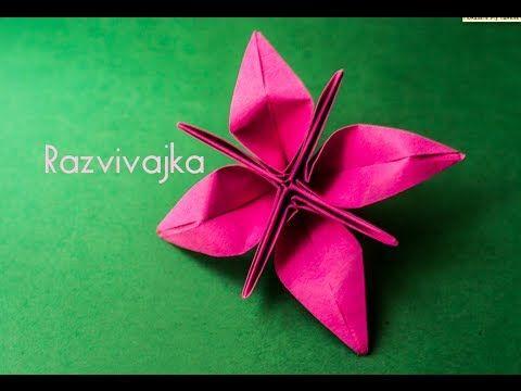 Origami flower-box / virág-doboz - YouTube   360x480
