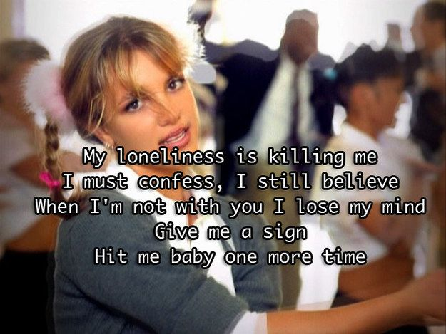 25 Song Lyrics Every '90s Kid Will Never Forget | Pop ...