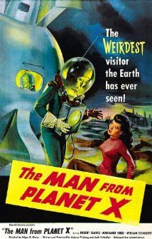 The Man From Planet X 1951 Poster 50 S Movie Posters Sci Fi