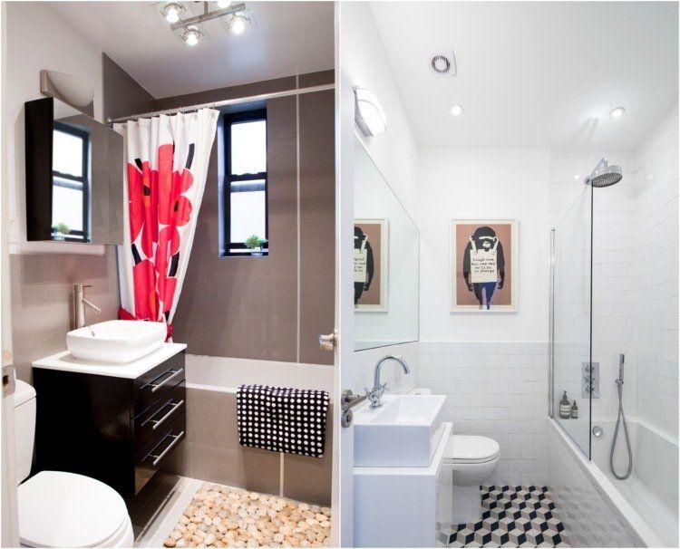 Comment agrandir la petite salle de bains – 25 exemples | Couleurs ...