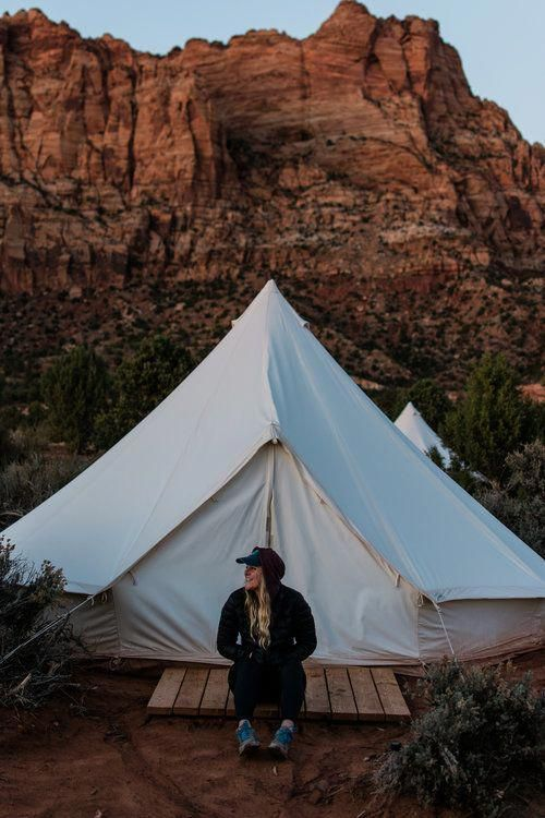 Tent // Camping // Hikes in Zion // Views // Travel ...