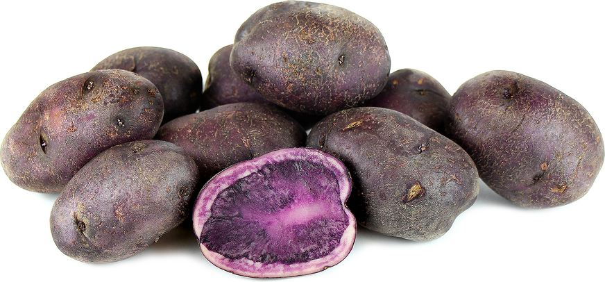 Purple Potatoes Have Deep Violet Ink Colored Skin And Flesh Depending On The